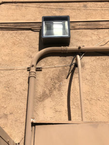 Outdoor Electrical Lighting - Done by Fastwire Electric